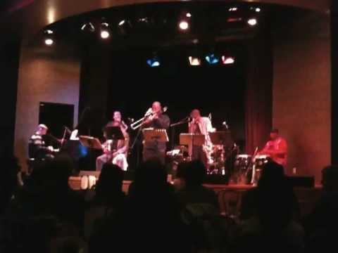 "Charles Hamilton Blows Hot Jazz Trombone Solo on ""Yanal"""