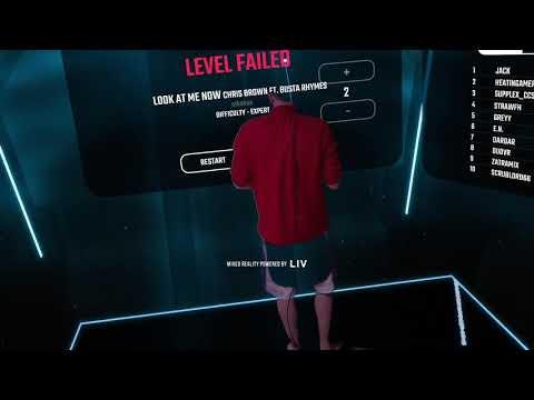 Beat Saber VR LIV Test