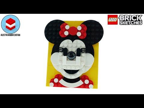 Vidéo LEGO Brick Sketches 40457 : Minnie Mouse