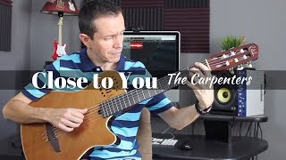 Close to You (The Carpenters) - Fingerstyle
