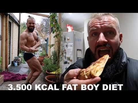 My 3,500 Kcal Bulking Diet | Full Day Of GETTING FAT!
