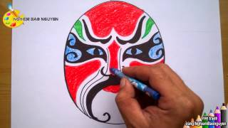 Vẽ mặt nạ/How to draw Mask