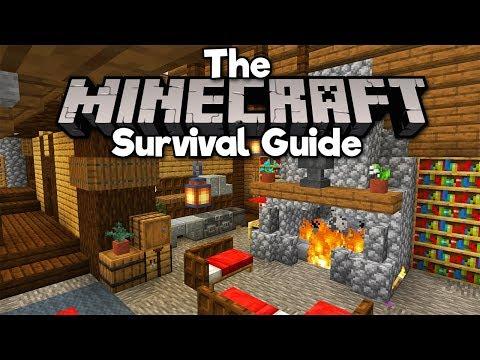 Modern House Interior Design The Minecraft Survival Guide Part 215 Minecraftvideos Tv
