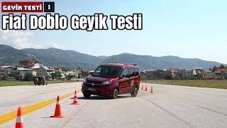 Fiat Doblo Geyik Testi! | Yeteri kadar dengeli mi?