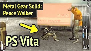 Metal Gear Solid: Peace Walker on PS Vita (30 FPS)