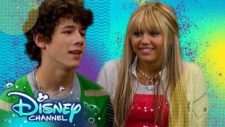 Hannah Meets The Jonas Brothers! 💕 | Throwback Thursday | Hannah Montana | Disney Channel