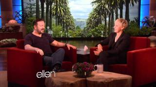 Ricky Gervais Prepares for the Golden Globes