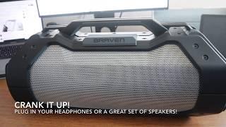 BRAVEN XXL   SUPER BASS OUTDOOR SPEAKER!