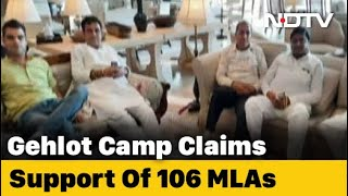 Team Gehlot At Hotel, Party Resolution Targets Sachin Pilot - Download this Video in MP3, M4A, WEBM, MP4, 3GP