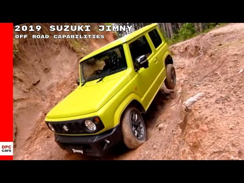 2019 Suzuki Jimny Off Road Capabilities