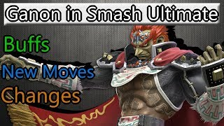 Ganondorf in Smash Ultimate (Buffs and changes) - dooclip.me
