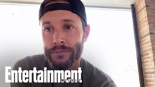 Jensen Ackles Teases His Soldier Boy Wardrobe | Entertainment Weekly