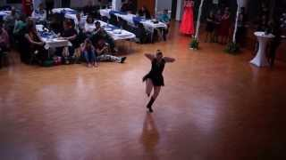 preview picture of video 'German World of Dance 2013 Lena Keil Eastcoast Swing Novice Young Adult Female'