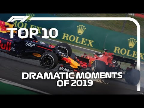 Download Top 10 Dramatic F1 Moments of 2019 Mp4 HD Video and MP3