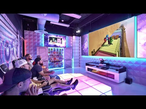 World's Best Gaming Room   Overtime 10   Dude Perfect