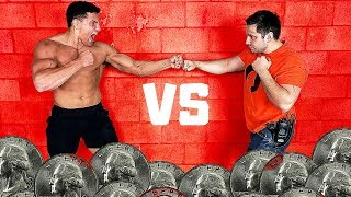 You BLEED You LOSE 2 - Bloody Knuckles Competition *PAINFUL* | Bodybuilder VS Normal Guys