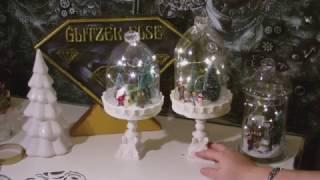 DIY - Plasteflaschen Upcycling Glocke Winterlich / Weihnachtlich Dekoriert