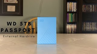 WD 5 TB Passport External Hardrive Review