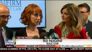 Ted Nugent Attacks Kathy Griffin While Arguing He Never Threatened Obama