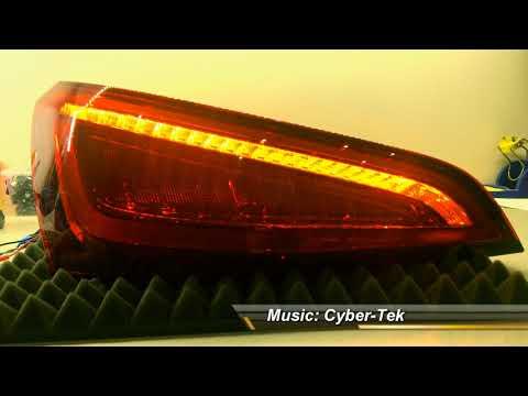 Audi Q5 matrix dynamic indicators blinker kierunkowskazy dynamiczne