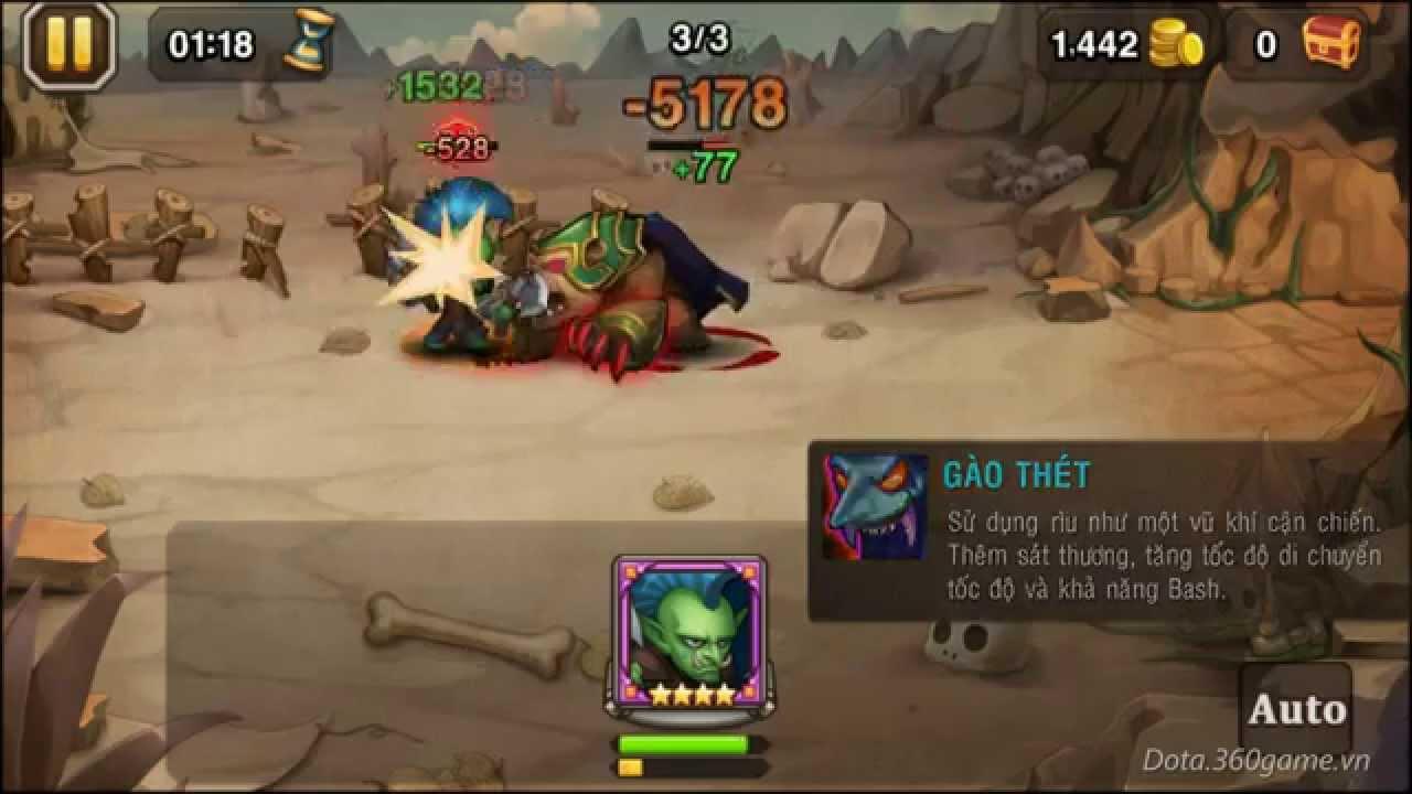 Tướng mới – Troll sắp xuất hiện trong DoTa Truyền Kỳ