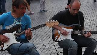 Rome Street Musicians  Sultans Of Swing By Dire Straits Piazza Navona Rome Italy May 10 2015