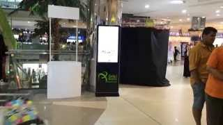preview picture of video '42 Advertising Mopi Kiosk -  Taif Heart Mall in Taif KSA...'