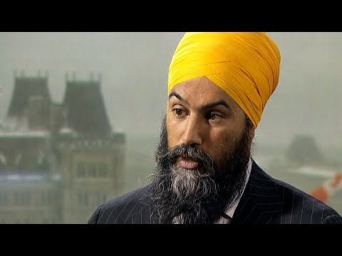 What are the NDP's demands for a minority Liberal government?