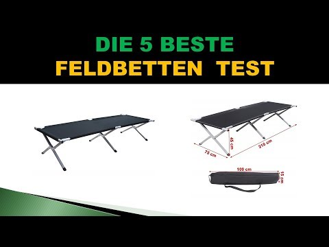 Beste Feldbetten Test 2018