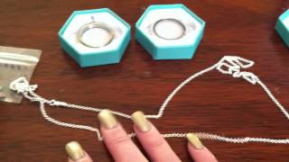 Origami Owl (living Locket) Unboxing And Story