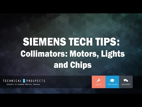 Collimators: Motors, Light, and Chips