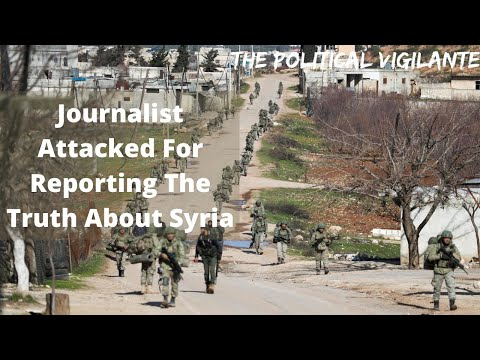 Vanessa Beeley Attacked For Revealing Truth About Syria