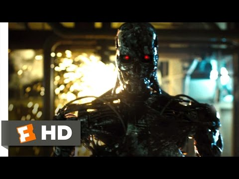 Terminator Salvation (10/10) Movie CLIP - T-800 Factory (2009) HD