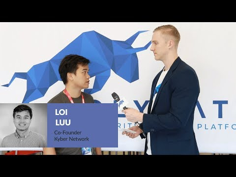 Loi Luu on Kyber Network and Securities Tokens at EDCON 2018