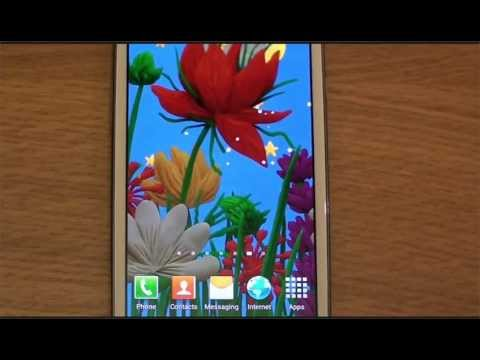 Video of KM Flowers Live wallpaper