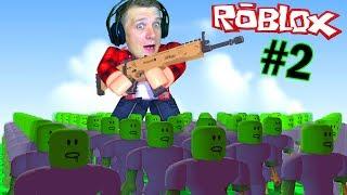 Моя КОРПОРАЦИЯ ЗОМБИ в ROBLOX #2 Создал Новых Зомби в игре Роблокс выживание в городе от FFGTV