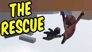 The Rescue - Human Fall Flat Funny Moments