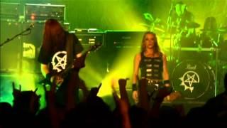 Arch Enemy - Bury Me an Angel Live in London 2004 (Angela Gossow Cam)