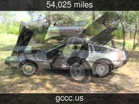 Video of '81 DMC-12 located in Texas - $28,500.00 Offered by TX Collector Classic Cars - ET8B