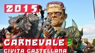 preview picture of video 'CARNEVALE CIVITA CASTELLANA 2015'