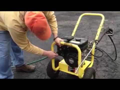 Karcher G 2600 Pressure Washer with Subaru 6HP motor