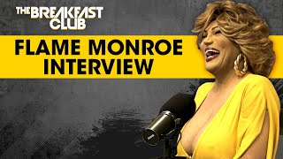 Drag Queen Comedian Flame Monroe Speaks On Trans Misconceptions, Beef w/ Mo'Nique, 'HeSheWe' + More