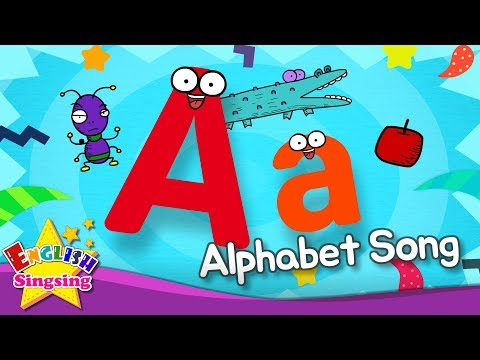 Alphabet Song - Alphabet 'A' Song - English song for Kids