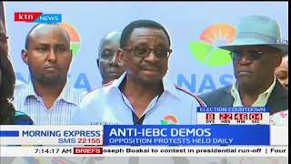 NASA temporarily call off Anti-IEBC demonstrations