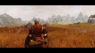 SKYRIM EPIC BATTLE - HELM'S DEEP - LOTR MOD