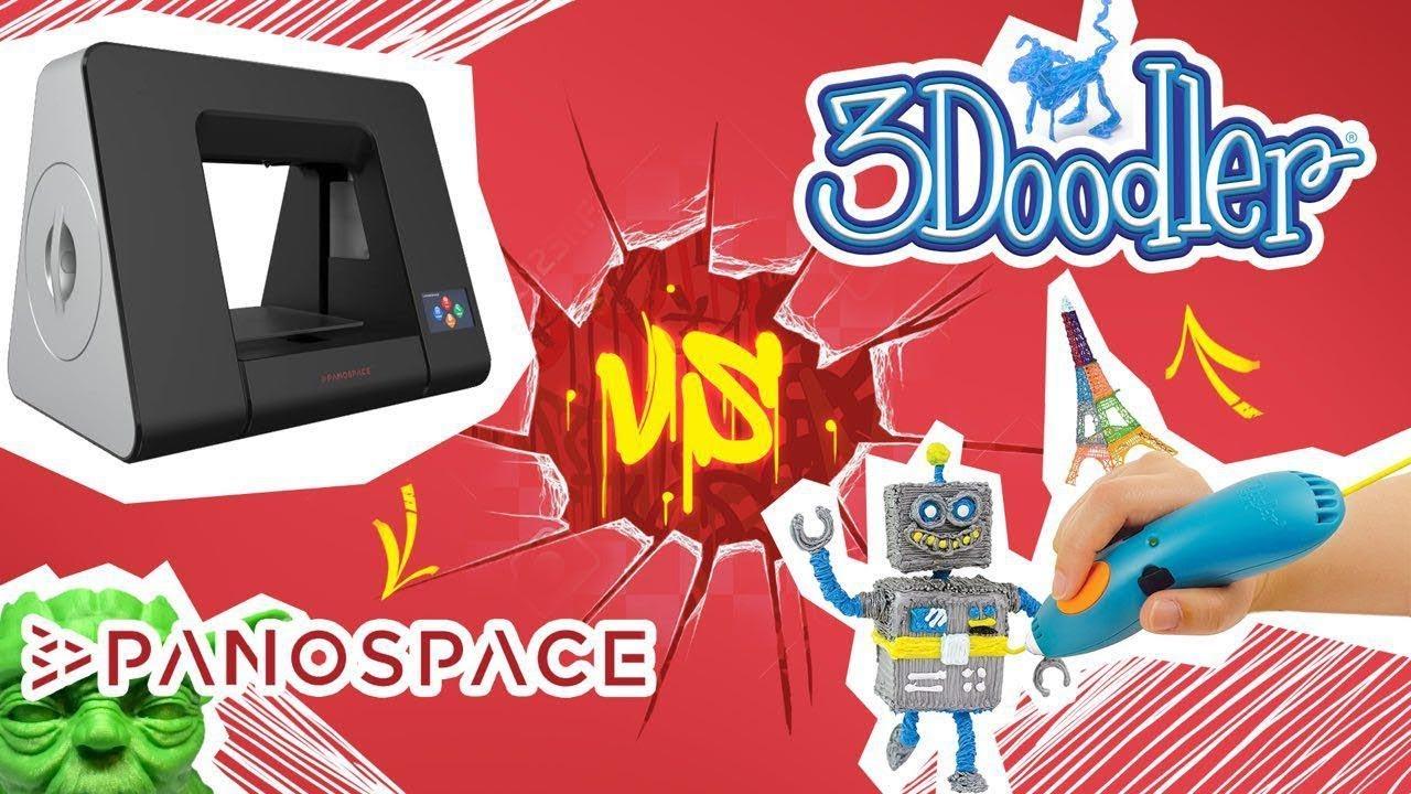 Panospace 3D Printer (Gray) PSPA06-EU video preview