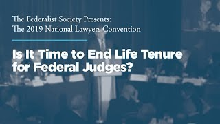 Click to play: Is It Time to End Life Tenure for Federal Judges?