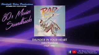 """Thunder In Your Heart - John Farnham (""""Rad"""", 1986)"""