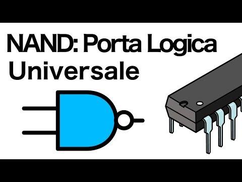 la porta NAND è una porta logica universale