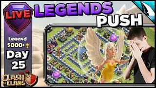 *Oh No* Queen Charge Lalo in Legends League - What can go wrong? | Clash of Clans